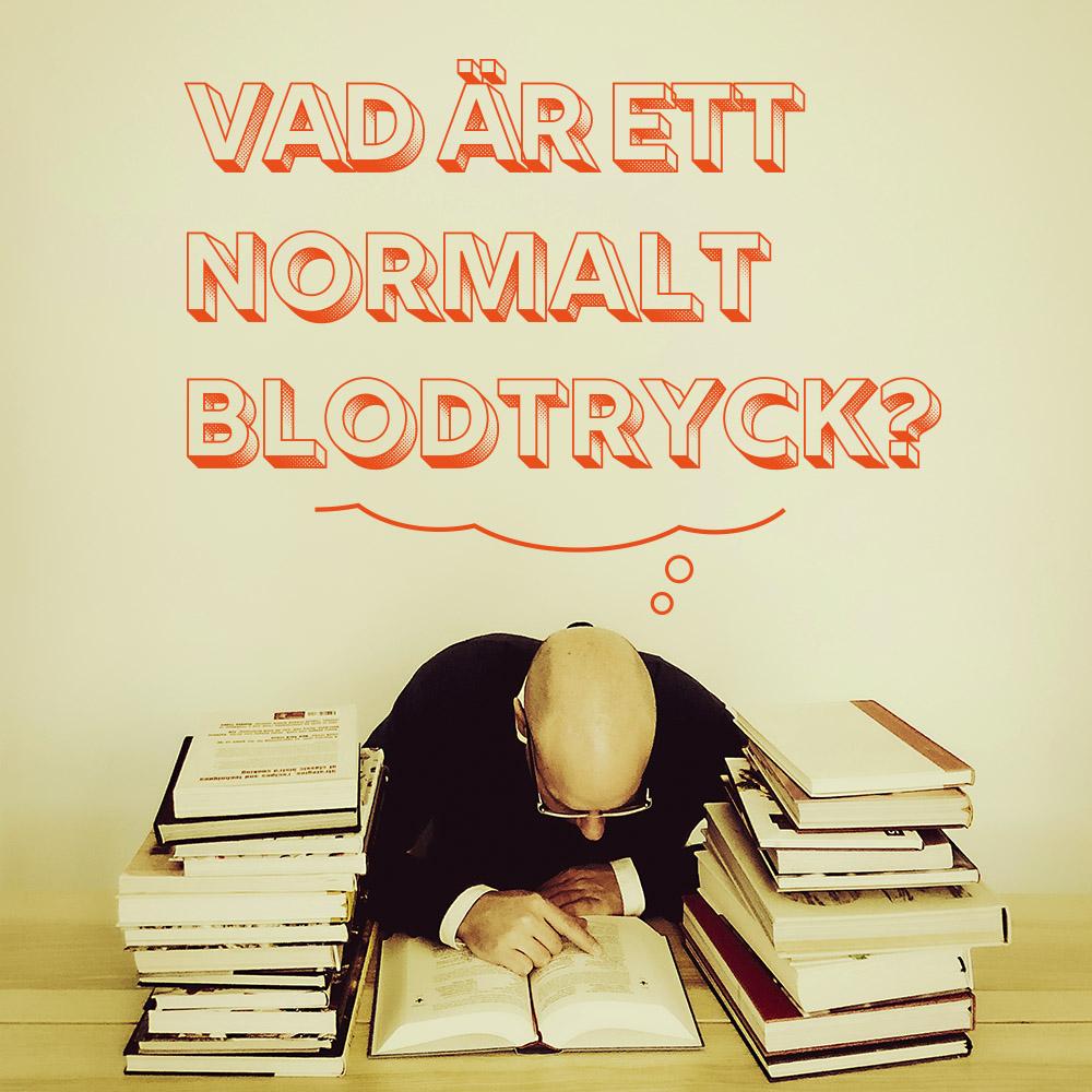 Vad är normalt blodtryck?